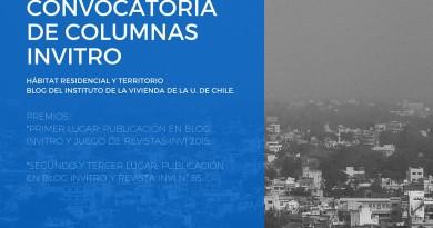 CONVOCATORIA DE COLUMNAS INVITRO