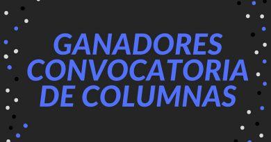 GANADORES CONVOCATORIA DE COLUMNAS