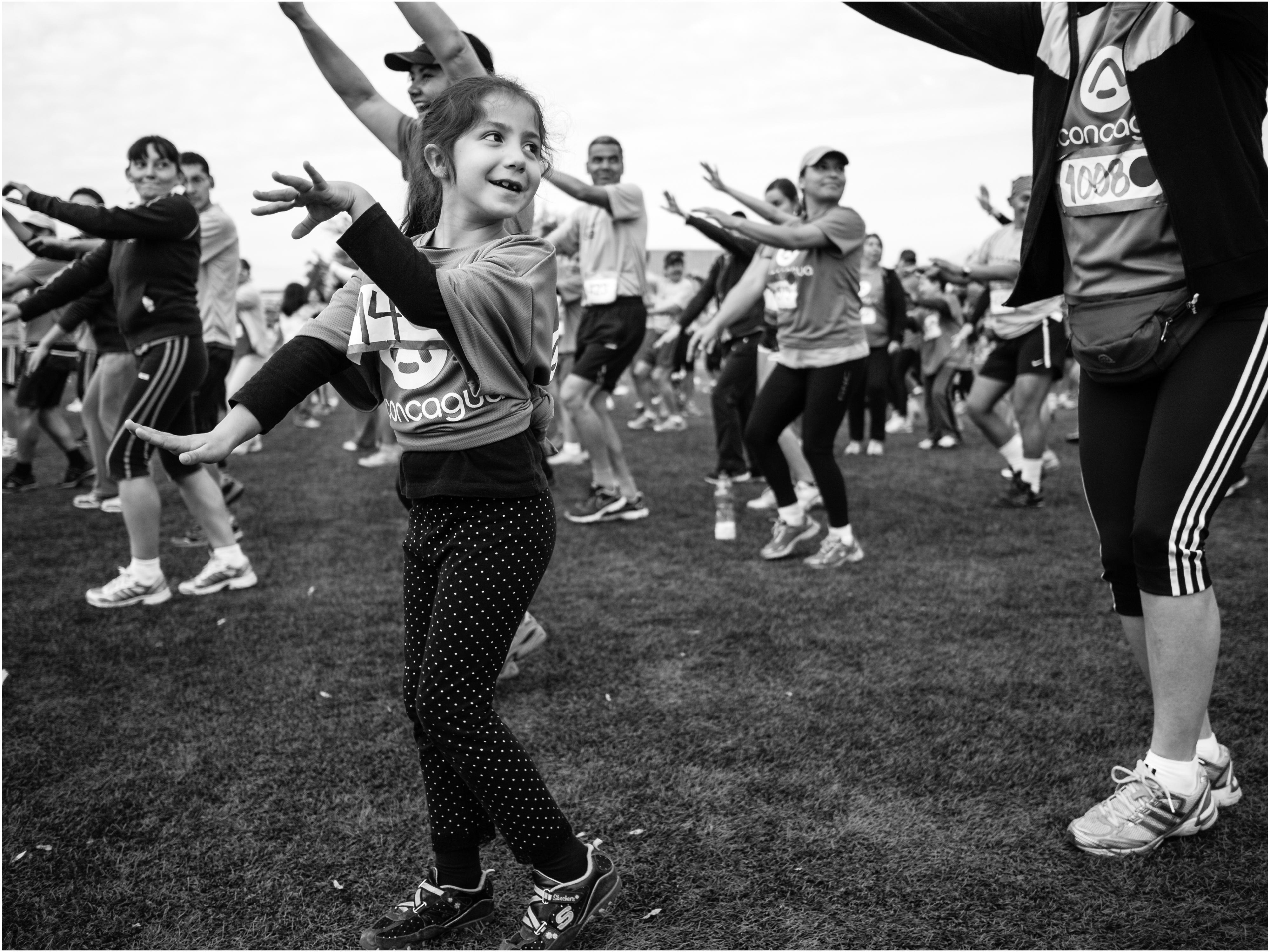 """Foto-ensayo: """"Running: la ciudad es de los corredores"""" por Francisco Osorio"""