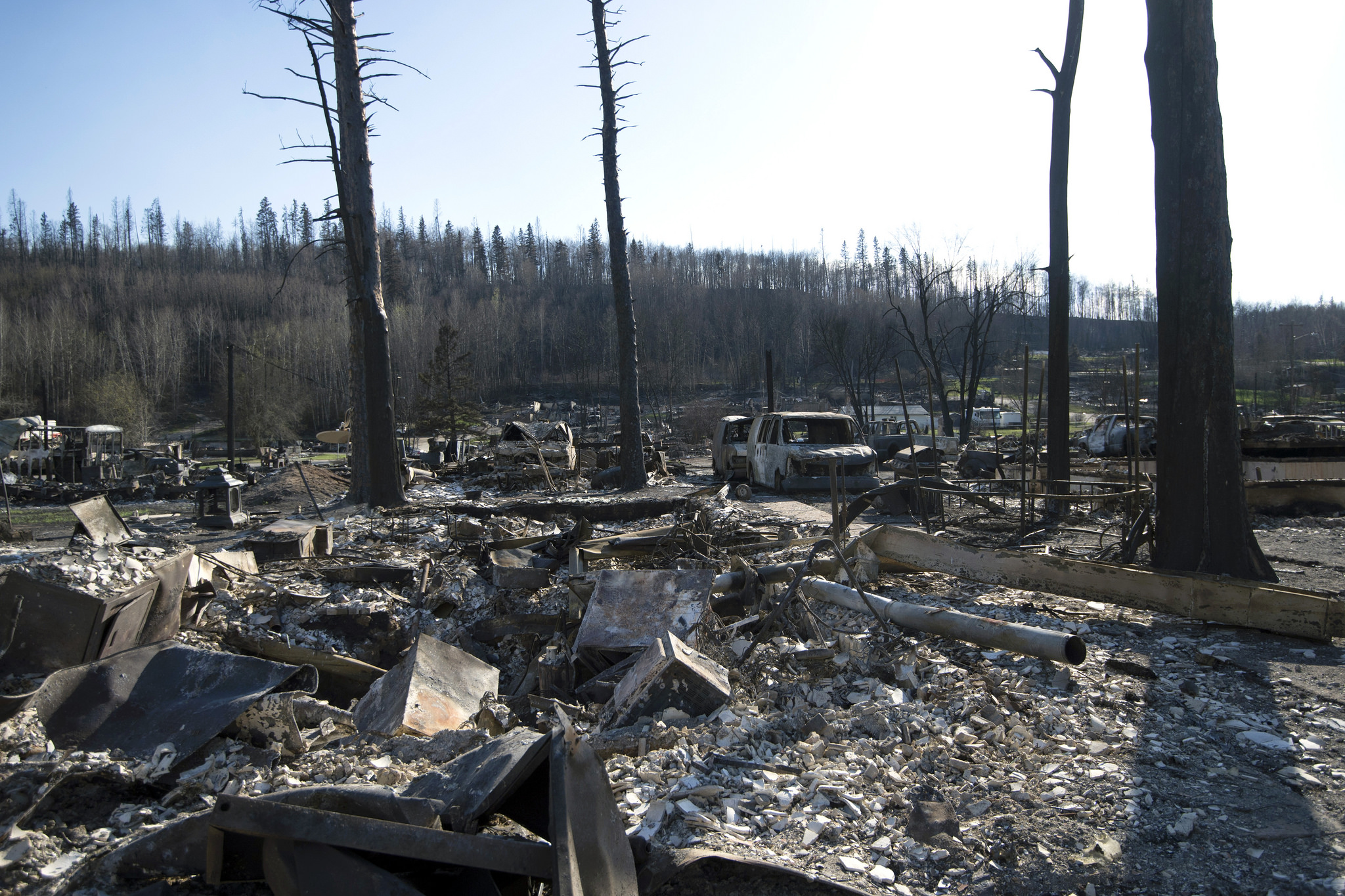 Title_ Fort McMurray Wildfire 2070. Autor_ Flickr Premier of Alberta