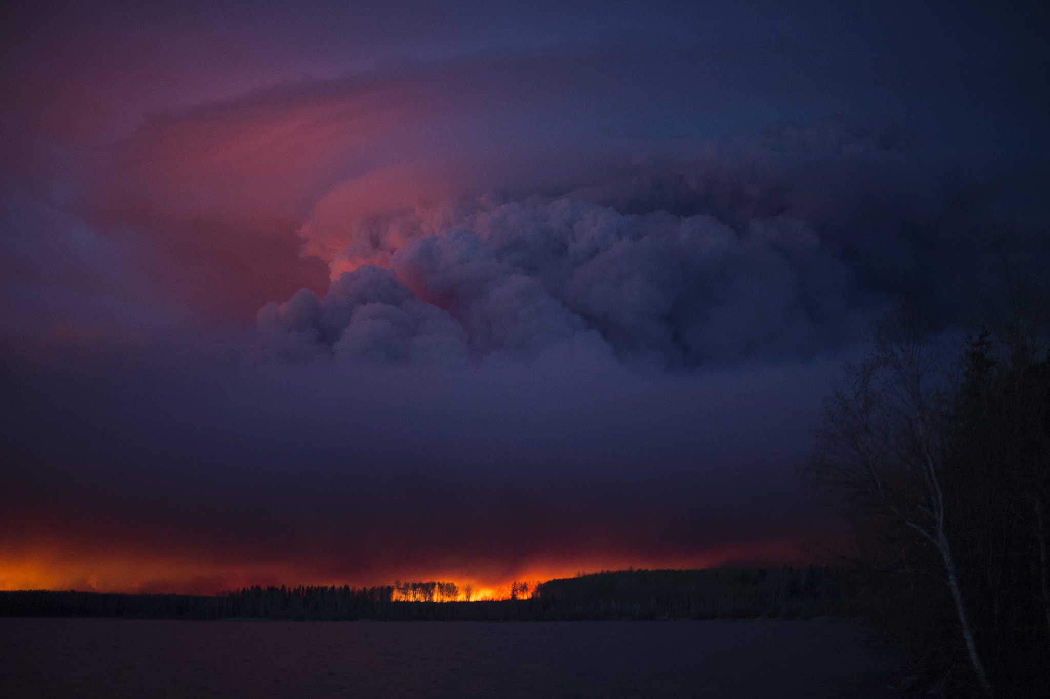 Title_ Fort McMurray Wildfire. Autor_ Flickr Premier of Alberta
