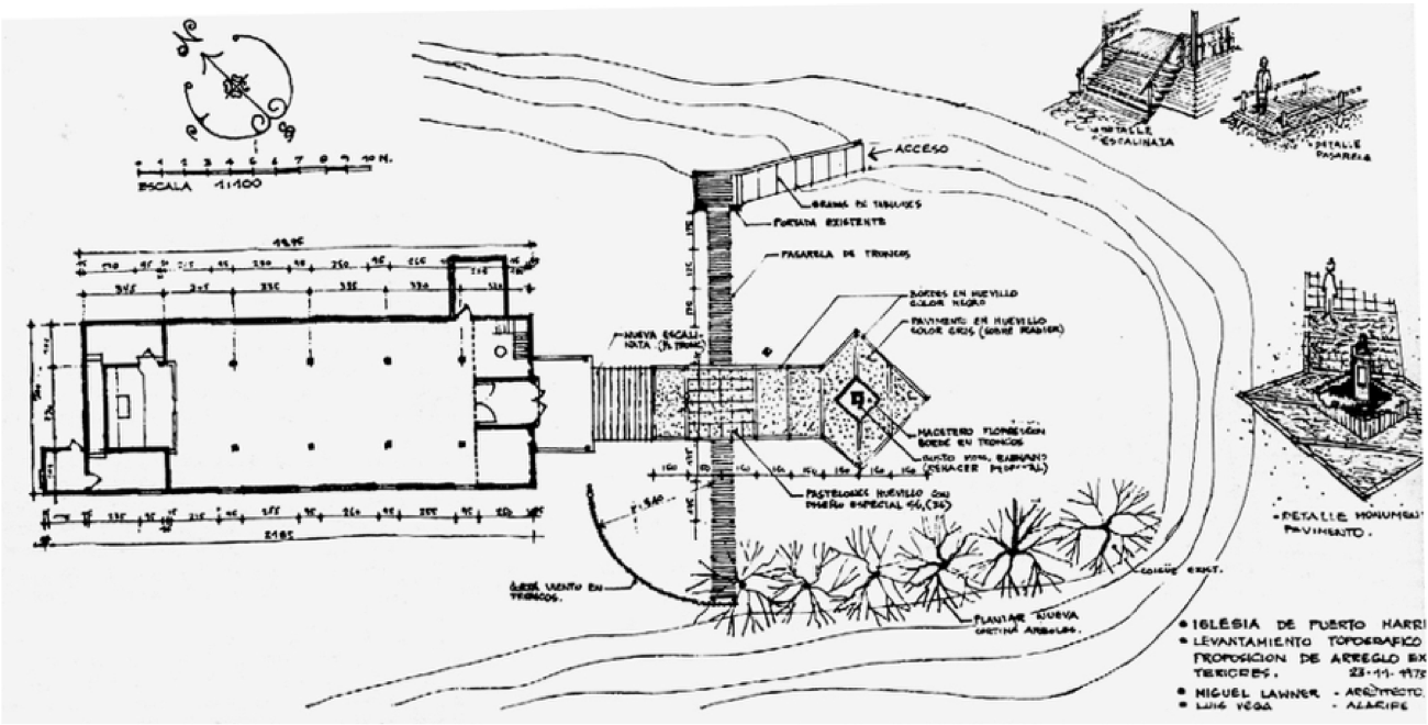 ML_Restauracion Iglesia puerto harris_Preso político_1973