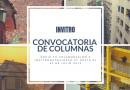 Convocatoria de columnas INVItro 2019