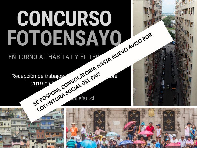 Concurso foto-ensayo en torno al hábitat y el territorio.