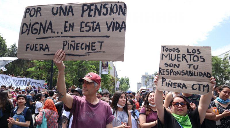 Por una pensión digna
