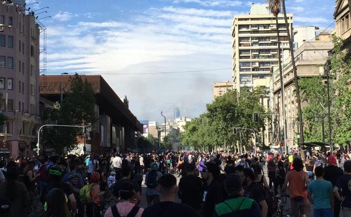 Marcha en la Alameda